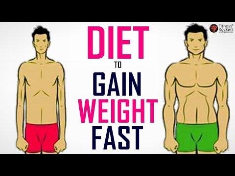 How To Gain Weight Fast Diet Plan For Weight Gain Men Women