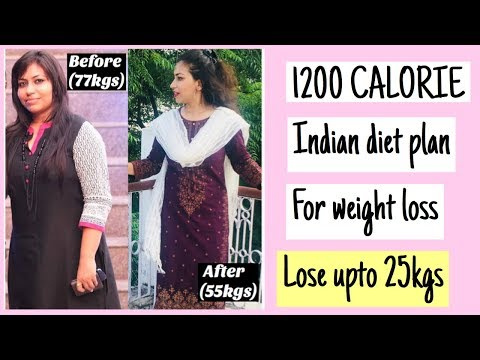 1200 CALORIE INDIAN DIET PLAN | WHAT I ATE TO LOSE 25KGS OF WEIGHT | Azra Khan Fitness