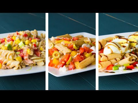 3 Healthy Pasta Salad Recipes For Weight Loss