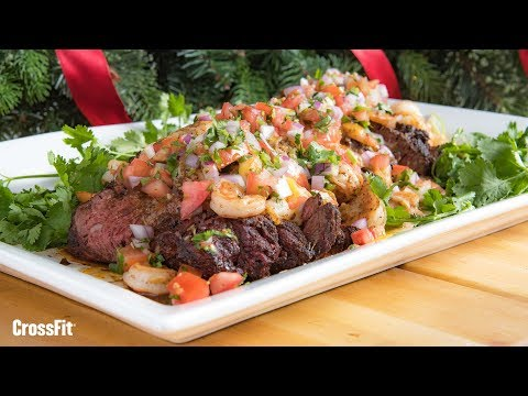 Nick Massie: Beef and Shrimp Tampiqueña With Christmas Pico