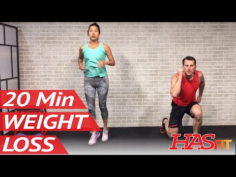 20 Min Home Workout without Equipment for Women & Men