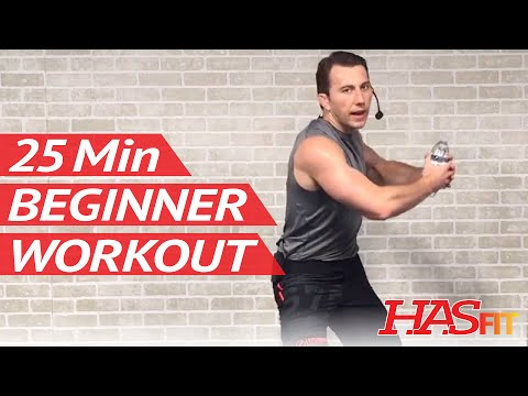 25 Min Beginner Workout Routine for Women & Men at Home – Workouts for Beginners without Weights