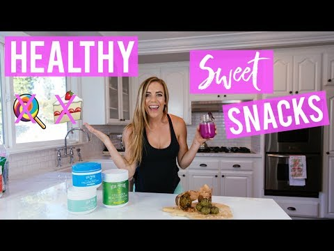 3 Healthy SWEET Snack Recipes to Avoid Cravings