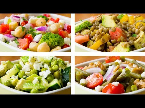 4 Vegetable Salad Recipes For Weight Loss | Healthy Salad Recipes