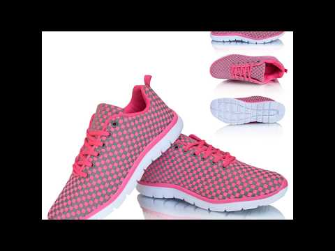 Ladies Womens Air Tech Gym Jogging Running Fitness Trainers Shoes UK Sizes 4-8