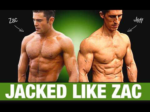 Zac Efron Workout and Diet Plan (BAYWATCH!!)