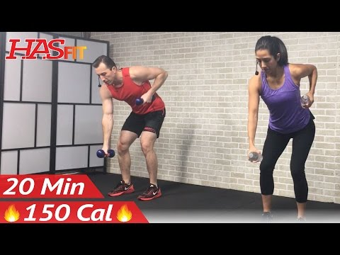 20 Minute Low Impact Cardio Workout for Beginners – Beginner Workout Routine at Home for Women Men