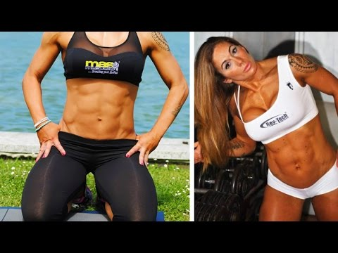 VICTORIA LOMBA – Fitness Model: The Full-Body Workouts For Extreme Fitness @ Spain