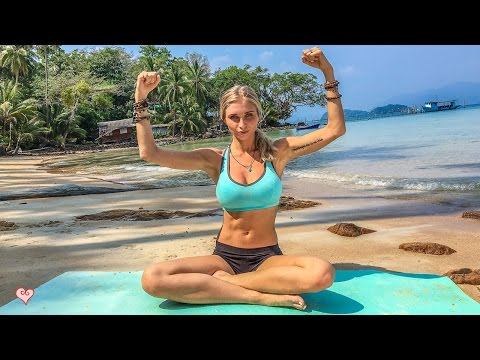 Yoga Workout ♥ Better Than The Gym | Abs & Core