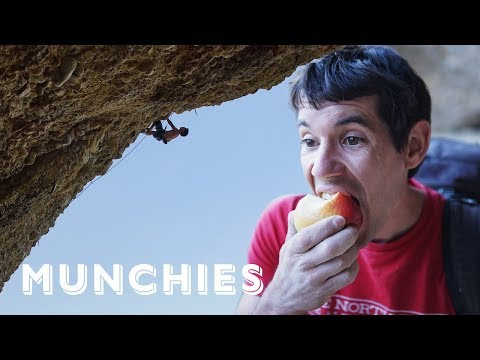 Legendary Rock Climber Alex Honnold's Vegetarian Diet