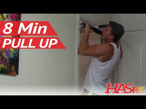 8 Min Pull Up Workout – HASfit Pullup Exercises – Pull Up Training – Pull Up Bar Workouts Exercise