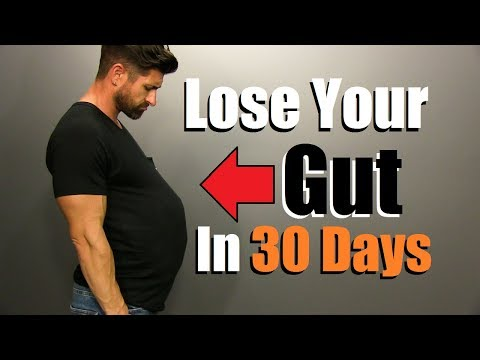 Lose Your GUT In 30 Days   5 Steps To JUMPSTART Fat Loss
