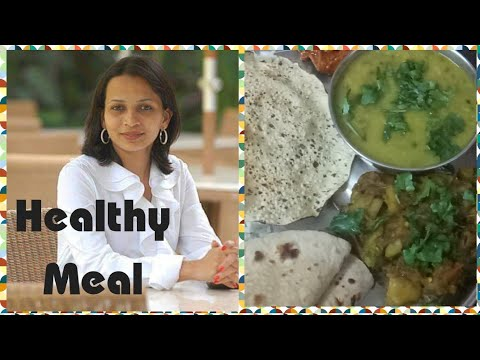 I tried Rujuta Diwekar weight  loss meal plan || Everyday indian meal plan..