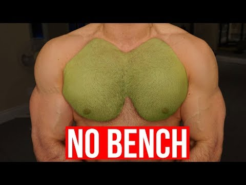 5 KILLER Chest Exercises With NO BENCH (GRUUUUESOME!!)
