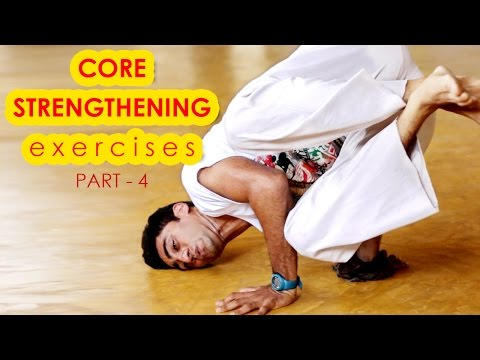 Best core strengthening exercises for overall fitness – Part 4