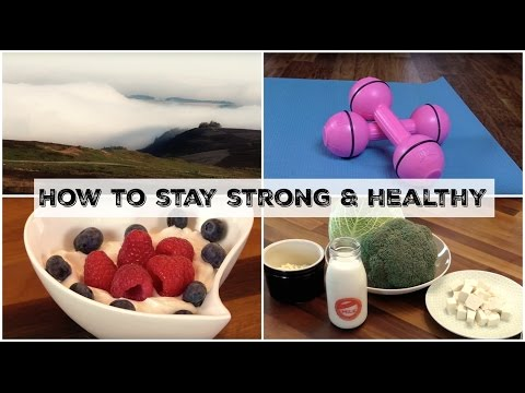 How to Stay STRONG & HEALTHY! | UK Dietitian Nichola Whitehead