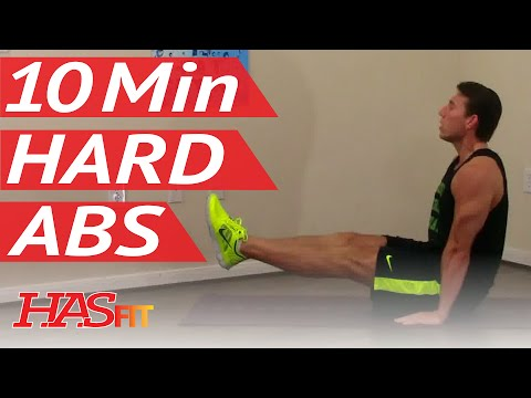 10 Min Demolition Abs Workout – HASfit Extreme Abdominal Exercises – Hard Ab Workouts – Advanced Ab