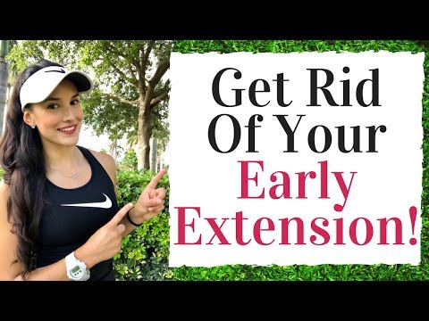 Fix Your Early Extension – Golf Fitness Tips