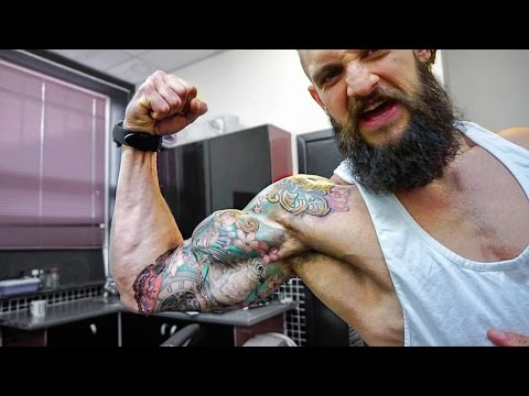 TATTOOS – MUSCLE & 2 YEAR FIT COUPLE RELATIONSHIP   6 Week Shred Ep. 22   Lex Fitness