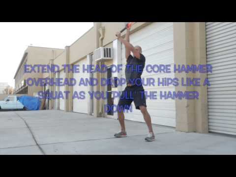 MostFit Core Hammer Fitness Sledgehammer Workouts Without a Tire
