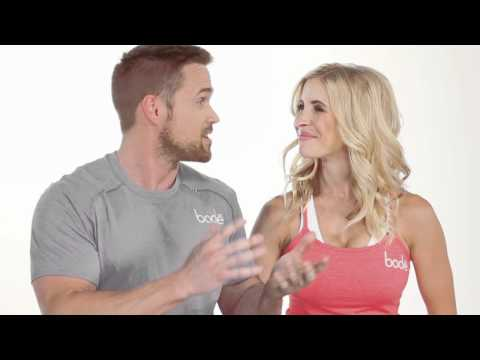 """TV Celebrity Fitness Trainers, Chris Powell &, Heidi Powell,""""Protein Diet Tip""""  Key to Weight Loss"""