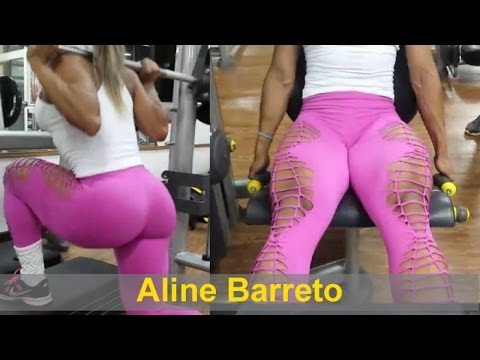 ALINE BARRETO – IFBB Wellness (Fitness Model): Exercises to help you get your perfect body @ Brazil
