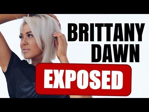 BRITTANY DAWN BAD NEWS GIRL FITNESS COMMUNITY DRAMA