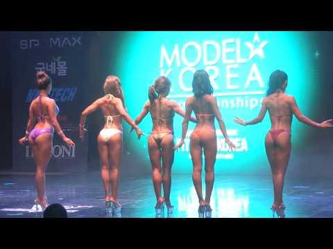 Musclemania Fitness Korea Sports Model Bikini Model Competition Body Profile Video    2