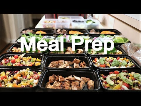 Meal Prep For Weight Loss – Breakfast, Lunch, Dinner, and Snacks – 1600-1700 Calories
