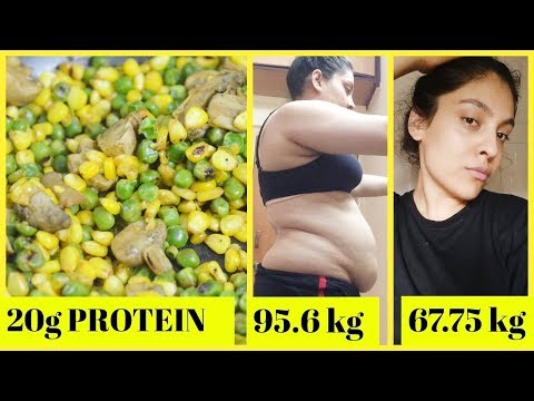 High Protein Healthy Indian Vegetarian Vegan Dinner Recipe For Weight Loss | No Oil | 20g Protein