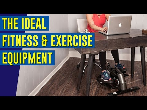 The Ideal Fitness & Exercise Equipment For Home | jfit Under Desk & Stand Up Mini Elliptical