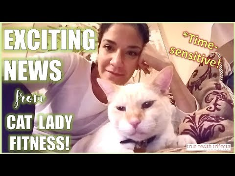 EXCITING NEWS (and Thanksgiving Special!) – Cat Lady Fitness / True Health Trifecta