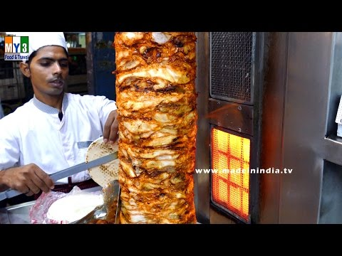 Chicken Shawarma   CHICKEN RECIPES IN INDIA    M S Ali Road   MUMBAI STREET FOOD   4K VIDEO
