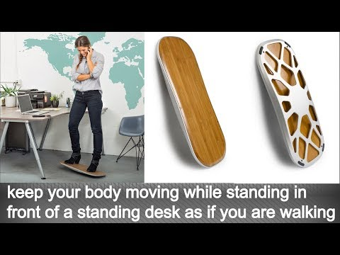 this fitness equipment for home & office called the Deck makes you burn fat & live healthy lifestyle