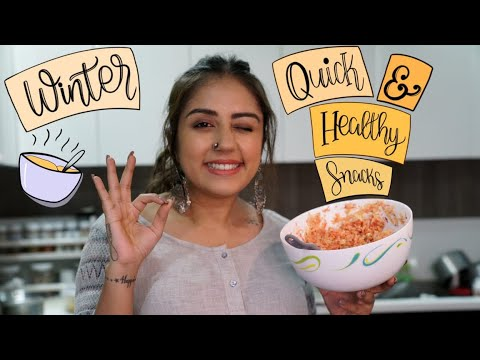 Winter Quick And Healthy Snacks | HEALTHY RECIPES | Myhappinesz
