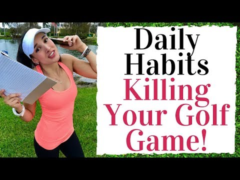 Daily Habits Ruining Your Golf Swing – Golf Fitness Tips