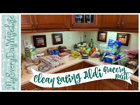Clean Eating Aldi Grocery Haul  || I Am My Own Worst Enemy! 🍎🍏