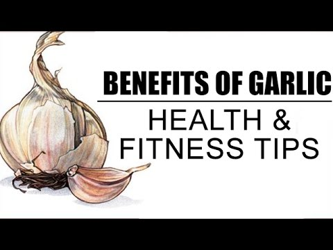 Health Benefits Of Garlic   Health And Fitness Tips