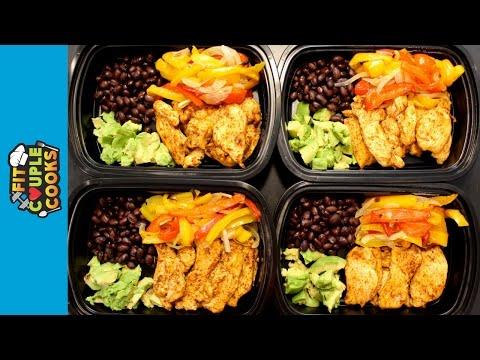 How to Meal Prep – Ep. 19 – CHICKEN FAJITAS