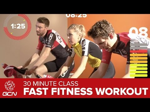 Fast Fitness Workout – Get Fit With GCN's 30 Minute High Cadence Bike Workout