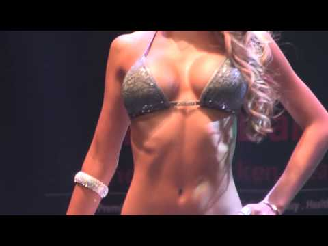 Musclemania Fitness Korea Sports Model Bikini Model Competition Body Profile Video