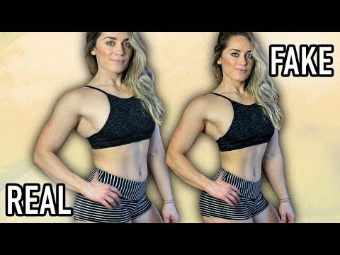 Photoshop The Perfect Body – The dishonest side of fitness models? FaceTune, Photo Retouching