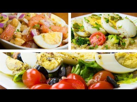 3 Boiled Egg Recipes For Weight Loss   Hard Boiled Egg Diet