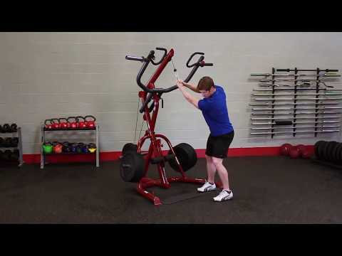 Corner Leverage Gym Package #GLGS100P4 –  Exercises (BodySolid.com)