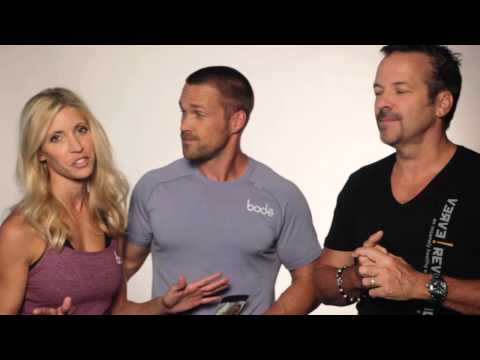 TV Fitness Trainers Heidi and Chris Powell video on their new Bod-e weight loss protein shakes
