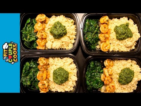 How to Meal Prep – Ep. 18 – SHRIMP – LOW CARB