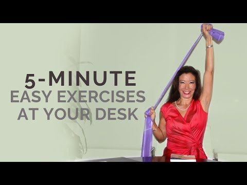 Fitness 9 to 5: 5 Minute Quick and Easy Exercises at Your Desk