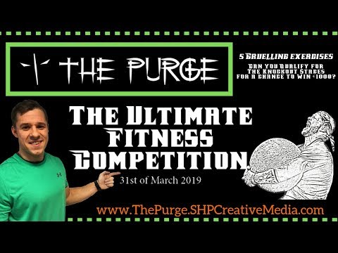 Join us at The Purge | Ultimate Fitness Competition | Ireland's Personal Trainer