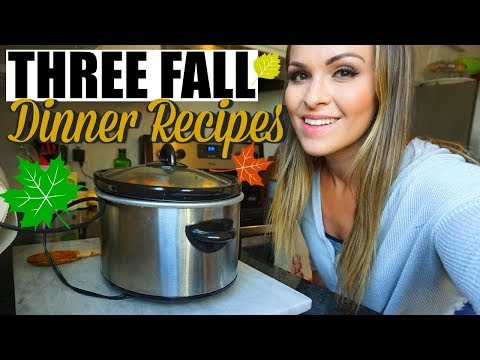 THREE FALL RECIPES | FMTF EP 05