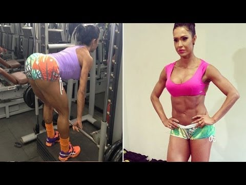 #1 GRACYANNE BARBOSA: Fitness Model: Exercises and workouts @ Brazil